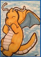 Dragonite ACEO by sorjei