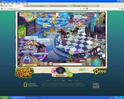 GOD!STRANGEST GLITCH EVER ON ANIMAL JAM!!!!!!!!!!! by FireFly1800