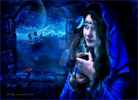 blue by Mayagraphic