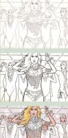 COMM PSC - Lady Gaga - Steps by The-Real-NComics