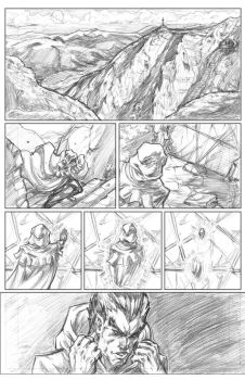 Summons #3 Page1 by CdubbArt