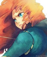 Brave - Merida by Breetroad