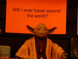 yoda travels? by Guardian0660