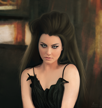 Amy Lee , Evanescence by fawwaz1