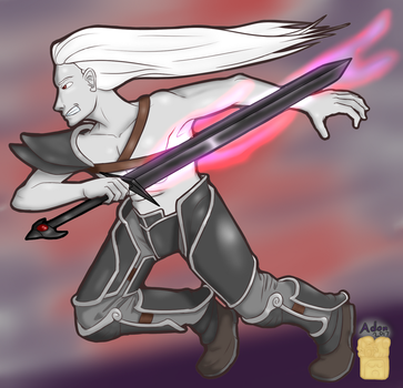 Elric The White Wolf by Rage-Halo