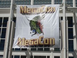 MegaCon 2008 Banner by steveclaus