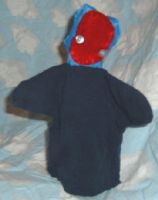 Blue Head by puppetry