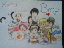 Happy Easter Bros!!! =D by judy2468