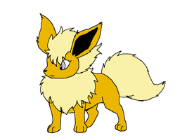 PMDU: August the Flareon by XfangheartX