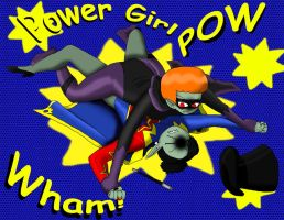 Power Gal - Crime Fighting by PlayboyVampire