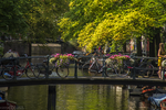 Bicycles, Flowers, Canals.. It's Amsterdam by Niehmar