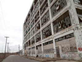 Fisher Body Plant, Detroit by vanfoto