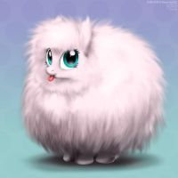 Fluffle Puff by DrJavi