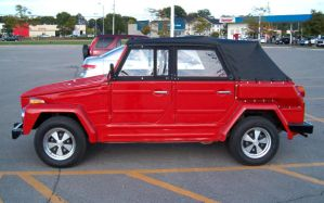 Red VW Thing 4 by Ripplin