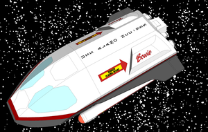 Shuttlecraft Bowie by Joe-Singleton