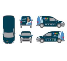 VW Caddy Beklebung by pinzweb