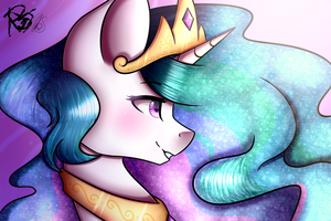 .:Celestia [COLLAB]:. by MLP-Norica