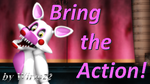[MMD FNAF] Mangle - Bring the Action! part1 by Wirm22