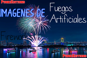 +Happy New Year Fireworks Pack de fotos by punkieditions