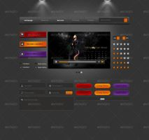 Awesome UI Elements by ionuss