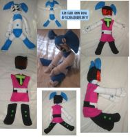 SOLD: Teen Team Jenny plush by teenagerobotfan777