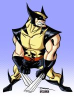 Wolvie by Derek Fridolfs by VPizarro626