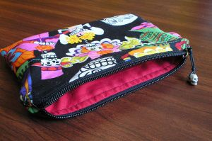 Muertos Zippered Pouch by DelectablyDeviant