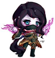ChibiDota - Templar Assassin by HelloATK