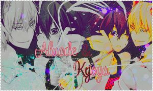 Alaude x Kyoya by AlondraStyle