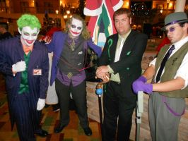 Jokers and Riddlers by Etrigan423