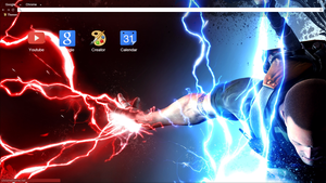 inFAMOUS 2 (1920x1080) Chrome Theme by Natakiro