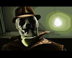 Rorschach MS PAINT by darknight7