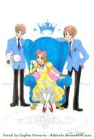 Ouran Thanks for Friend by ChibiSofa