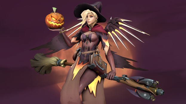 Witch Mercy 3 (4K) by CJWong34