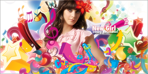 Zooey Deschanel Banner by blazigatr