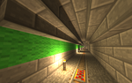 My Minecart Tunnel [Minecraft] by nftadaedalus
