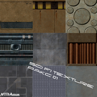 Sci fi Texure pack 01 by Milosh--Andrich
