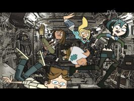 Total Drama IN SPACE! by daanton