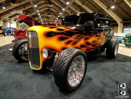 HOT-ROD at a show by Swanee3