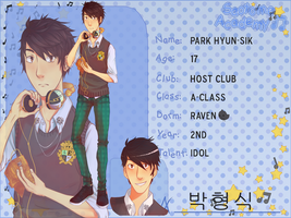 Saotome Academy - Park Hyun-Sik by Quilava314