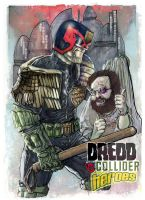 Dredd vs Schnepp by superegomark