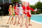 Poolside, Fruit Maid Style! by TheBigTog