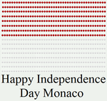 Happy Independence Day Monaco by DarkVampirequeen9