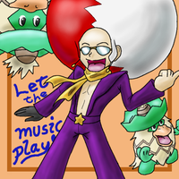 Let the music play by DragonArtist16