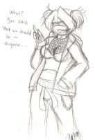 Gangster Disguise NiNi by nichan