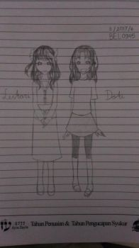 Lestari and Doti [Human Version 1] by BEL0945