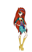 Monster High OC: Solina Avice by ambie13