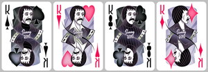 Cher Playing Cards [kings] by inkjava