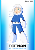 Robot Master - 005: Iceman by R64-art