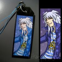 YGO: Bakura cell strap by Puffsan